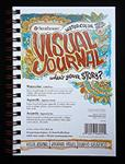Strathmore Visual Journal - 140lb Cold Press Watercolor Paper