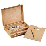 Wood Palette Sketch Box Large