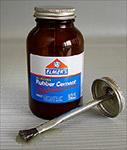 Rubber Cement 4 oz Jar With Applicator