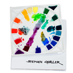 Stephen Quiller's Porcelain Watercolor Palette