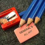 General Pencils - Drawing Set with 4 Graphite Pencils, Eraser, & Sharpener