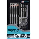 Generals Primo Euro Blend Charcoal Drawing Set # 59