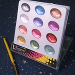Pearl Ex Metallic/Pearlescent Watercolor - Set of 12 Colors