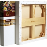 3D Pro Stretcher Bars - Golden Rectangles - With Monterey Canvas