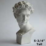 Plaster Casting - Miniature David Head