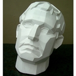 Plaster Casting - Angular Male Face