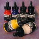 Liquitex Acrylic Ink! Essential Color Set (Six Colors)