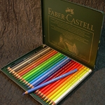 Faber Castell Polychromos Artist Colored Pencil Set of 24