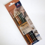 Conte Pencil Set of 6 Sketching Pencils Classic Colors