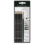 Faber-Castell Graphite Aquarelle Pencil Set of 5
