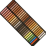Girault Soft Pastel Sets - Portrait Tones Set - Set of 50 Pastels