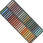 Girault Soft Pastel Sets - Canyon Set - Set of 50 Pastels