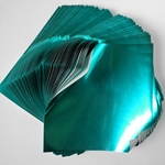 "Foil Origami Paper - Aqua Blue 3.5"" Square 100 Sheets (OUT OF STOCK)"