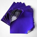 "Foil Origami Paper - Prussian Blue 3.5"" Square 100 Sheets (OUT OF STOCK)"