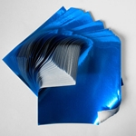 "Foil Origami Paper - Blue 12"" Square 24 Sheets"