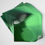 "Foil Origami Paper - Green 3.5"" Square 100 Sheets"