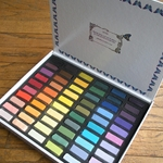 Great American Pastels - Set of Half Sticks - 60 Handmade Soft Pastels Le Plein Air Assortment