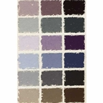 Great American Pastels - Grey Box - 18 Handmade Soft Pastels