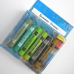 Art Spectrum Pastel Sets - Summer Greens Set of 6