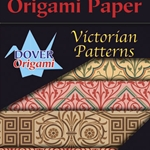 "Dover Origami - Victorian Patterns (24 Sheets; 6"" Square)"