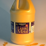 Liquid Metal Acrylic Paints - Gold - 64 oz Bottle