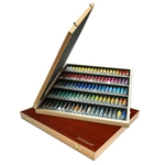Sennelier French Artists' Watercolor Wood Set of 98 - 10ml Tubes