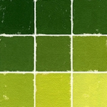Roche Pastel Values Sets of 9 - Dark Apple Green 5430 Series