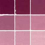 Roche Pastel Values Sets of 9 - Deep Red Purple 8280 Series