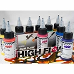 Golden High Flow Transparent Set of Ten 1 fl. oz. (30ml) Colors