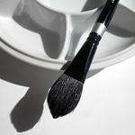 Silver Brush Black Velvet Brushes - Oval Wash