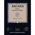 Arches Drawing Pads - Cream