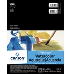 Canson Montval Watercolor Tape-Bound Pad