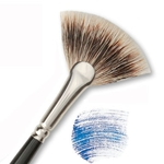 Raphael Kevrin Mongoose Brushes - Fan