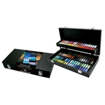 Sennelier Soft Pastels - Half Stick Black Wood Box Set of 120