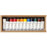 Jack Richeson Oil Wooden Box Set of 12 Paints