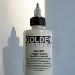 Golden Acrylic Polymer GAC-800 Reduces Crazing