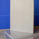 "Art Alternatives 1/2"" Thick Fiberboard with Dovetail Slots"