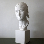 Masters Young Girl's Head