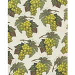 Rossi Decorative Paper from Italy- White Grapes 28x40 Inch Sheet