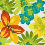 India Floral Screenprints