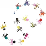 Decorative Paper Garland- Multicolor Octopus