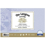 "Langton Prestige 100% Cotton 140lb Cold Pressed 9""x12"" 12 Sheet Block"