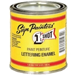 One Shot Sign Lettering Paint