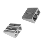 Milan Aluminium Double Hole Sharpeners