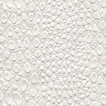Reptile Paper from India- Pearly Croc-Soft White 20x30 Inch Sheet