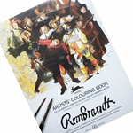 Pepin Artists' Colouring Books - Rembrandt