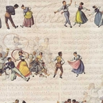 Tassotti Paper- Tarantella Wedding Dance 19.5x27.5 Inch Sheet