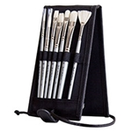 Jack Richeson Plein Air Oil Travel Brush Set