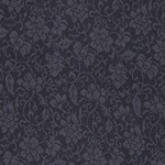 "Chinese Brocade Paper- Black on Black Floral 26x36"" Sheet"