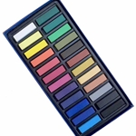 Faber Castell Soft Pastels Box of 24 Half Stick Lengths